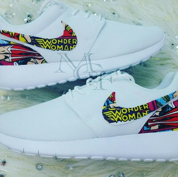 Wonder Woman Custom Nike Roshe